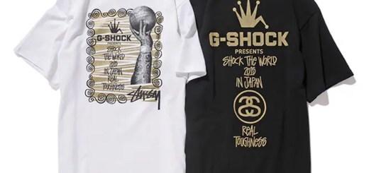 Stüssy × G-Shock Real Toughness Tee 2015が10/17からリリース!(ステューシー Gショック)