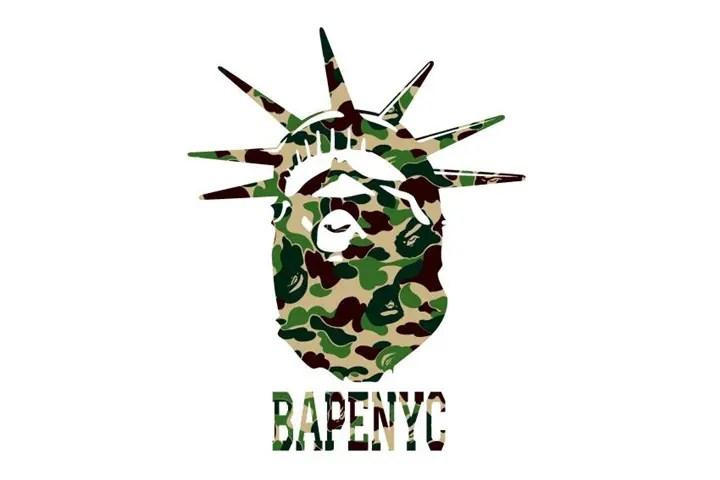 10/17からエイプ (A BATHING APE)のNEWアイテム!ニューヨークをイメージした「NYC DESIGN TEE」、蓄光プリントを使用した「CITY CAMO SHARK ZIP HOODIE」が発売!