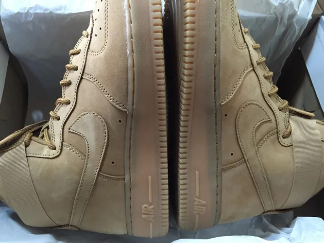 【プレゼント1名】NIKE AIR FORCE 1 HIGH '07 LV8 WHEAT PACK 2015 [806403-200] [US9.5,27.5cm]を1名に!