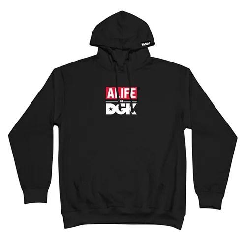 DGK × ALIFE RUN IT HOODED FLEECEが発売! (ディージーケー エーライフ ラン イット フーデット フリース)