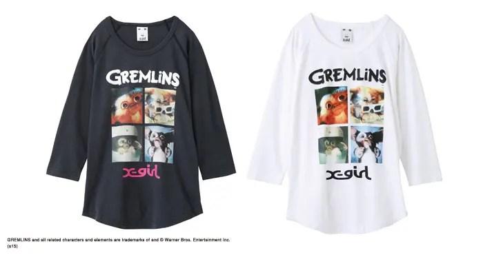 X-girl x GREMLINSとのコラボアイテムが11/6から発売!(エックスガール グレムリン)