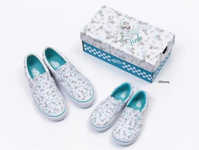 11/20発売!VANS × Disney Tinker Bell (バンズ ディズニー ティンカー・ベル)