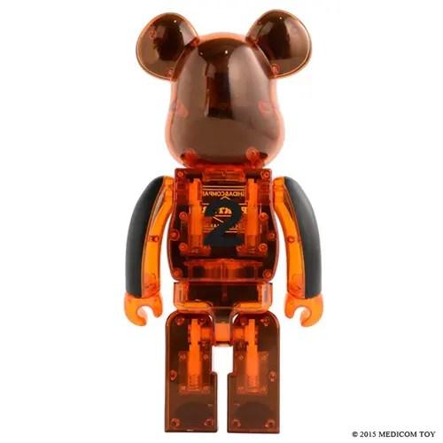 クラチカ ヨシダ&PORTER STAND限定!BE@RBRICK × PORTERコラボ!「BLACKxSKELETON ORANGE 400%」が11/21と11/28の2回に分けて発売! (ベアブリック ポーター)