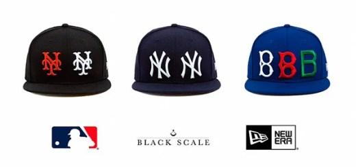 BLACK SCALE × NEW ERAのコラボが全6アイテム発売! (ブラックスケール ニューエラ)