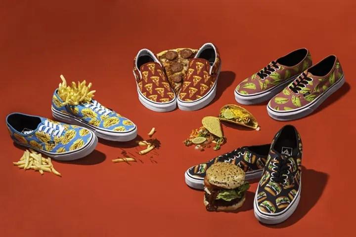 VANSからあまりにも美味しそうなピザ、ハンバーガー、マカロン、ドーナッツをイメージしたスニーカー! (VANS)