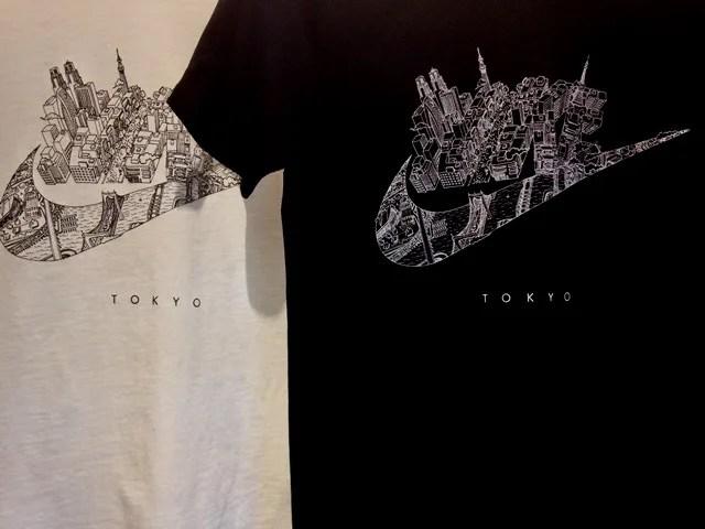 ナイキロゴが東京の街に!NIKE TOKYO COUNTRY TEEが発売! (東京 カントリー Tシャツ) [845442-100,010]