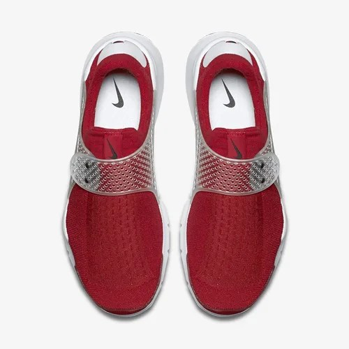 【NIKE CN 発売開始】ナイキ ソックダート ジャカード ミディアムグレー/ミッドネイビー/ジムレッド 2016年モデル (NIKE SOCK DART JCRD Medium Grey/Mid Navy/Gym Red 2016 MODEL) [819686-002,400,601]
