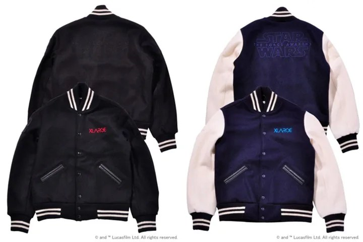 "1/30発売!X-large 「STAR WARS ""Episode VII The Force Awakens"" VARSITY JACKET」 (エクストララージ スターウォーズ)"