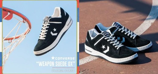 "BILLY'S限定!CONVERSE WEAPON SUEDE OX ""BLACK SUEDE""が2/19から予約スタート! (コンバース ウエポン ""ブラック スエード"" BILLY'S EXCLUSIVE)"