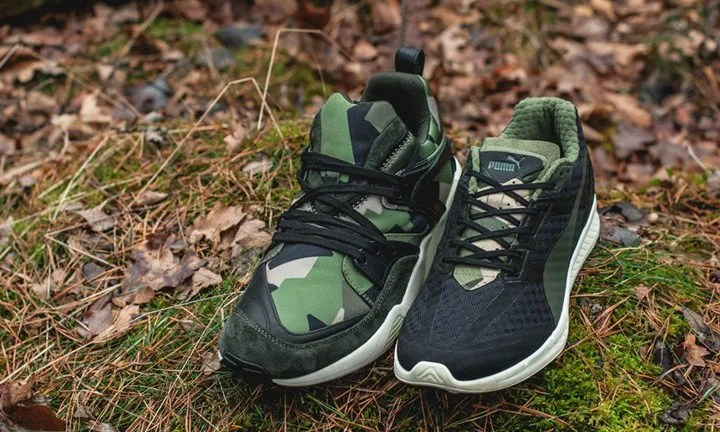 SneakersnStuff × PUMA BLAZE OF GLORY CAMO/IGNITE CAMO (SNS プーマ ブレイズ オブ グローリー イグナイト) [361322,3-01]