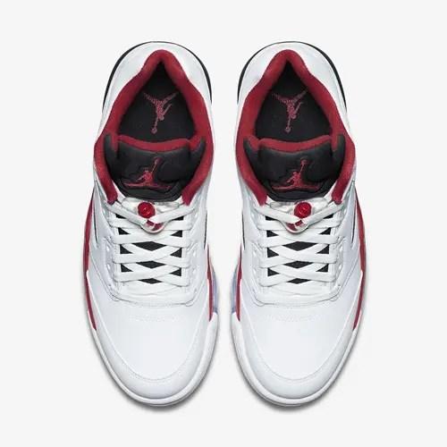 【オフィシャルイメージ】3/12発売!ナイキ エア ジョーダン 5 ロー ホワイト/ファイヤーレッド (NIKE AIR JORDAN V LOW White/Fire Red) [819171-101]