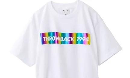 箔のBARプリントが煌びやかさを演出!X-girl THROWBACK 1994 S/S BIG TEEが3/8発売! (エックスガール)