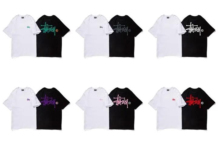 各地方のSTUSSY限定Tシャツ「Local Color Tee」を全48パターン発売!(ステューシー)