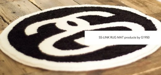 STUSSY × G1950 新作ラグマット「SS-LINK RUG MAT」が本日3/18から受注! (ステューシー ギャラリー1950 Gallery)