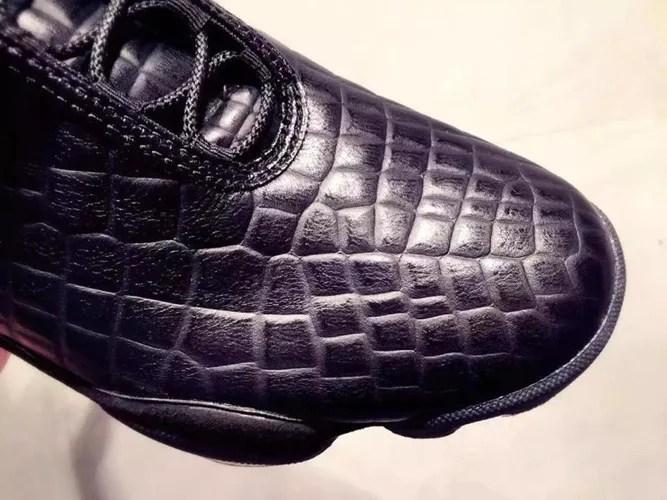 """【リーク】ナイキ ジョーダン ホライズン """"ブラック クロコ"""" (NIKE AIR JORDAN HORIZON PREMIUM """"Black Croc"""")"""