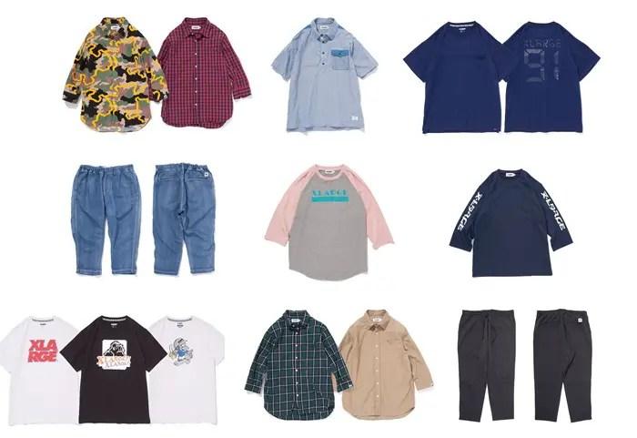 X-largeから5分袖のトップスや7分丈のパンツなどミドル丈のアイテムが3/25発売! (エクストララージ)
