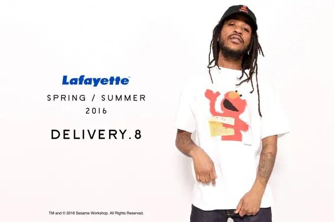 Lafayette 2016 SPRING/SUMMER COLLECTION 8th デリバリー!セサミストリートとのコラボアイテムが3/26から発売!(ラファイエット SESAME STREET)