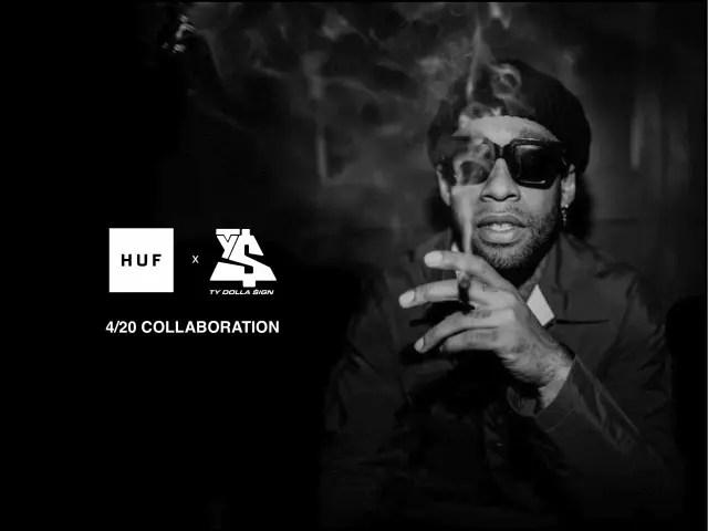 """4/20発売!HUF × Ty Dolla $ign """"420"""" COLLECTION (ハフ タイ・ダラー・サイン)"""