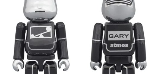 GARY × ATMOSのコラボレーションBE@RBRICKが初登場!4/26 12:00からオンライン発売! (アトモス ベアブリック)
