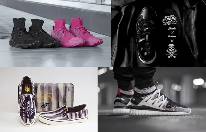 【まとめ】4/29発売のadidas/REEBOK/VANS厳選スニーカー!(TUBULAR DOOM PRIMEKNIT)(PureBOOST ZG Ltd)(BOUNTY HUNTER × PACKER SHOES × ATMOS INSTA PUMP FURY)(Vivienne Westwood Anglomania × VANS SLIP-ON)他