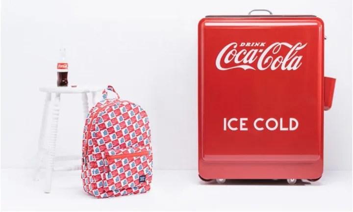 """5/1発売!Herschel Supply x Coca Cola """"ICE COLD PACK"""" (ハーシェル サプリー コカコーラ """"アイス コールド パック"""")"""