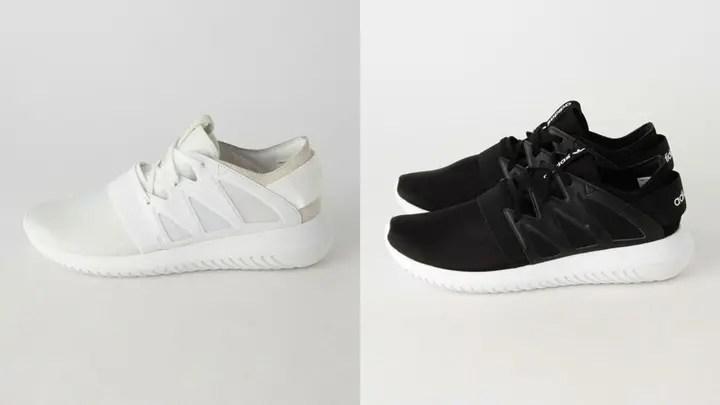 """2016年 秋冬モデル!adidas Originals WMNS TUBULAR VIRAL """"White/Black""""が8月発売! (アディダス オリジナルス チュブラー ヴァイラル 2016 FALL/WINTER)"""