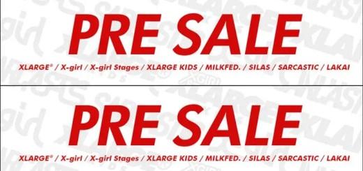 X-large、X-girl、SILAS等のcalifで夏のプレセールがスタート! (エックスガール エクストララージ サイラス Sale)