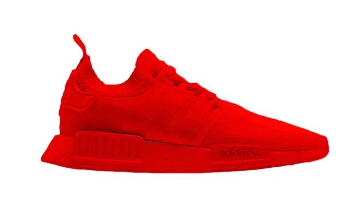 """2017年1月発売予定!adidas Originals NMD_R1 """"Triple Red"""" (アディダス オリジナルス エヌ エム ディー ランナー """"トリプル レッド"""") [S31507]"""