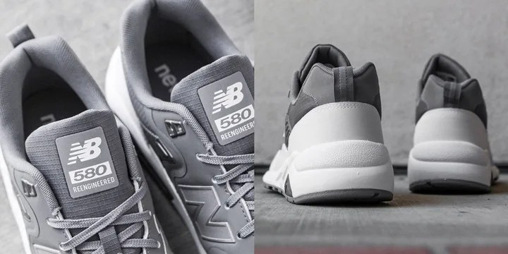 "海外展開!New Balance RE-ENGINEERED MRT580TF ""Gray/White"" (ニューバランス)"