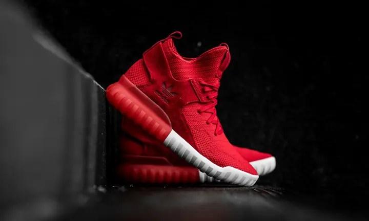 """海外展開!アディダス オリジナルス チュブラー エックス プライムニット """"スカーレット"""" (adidas Originals TUBULAR X PRIMEKNIT """"Scarlet"""") [S80129"""