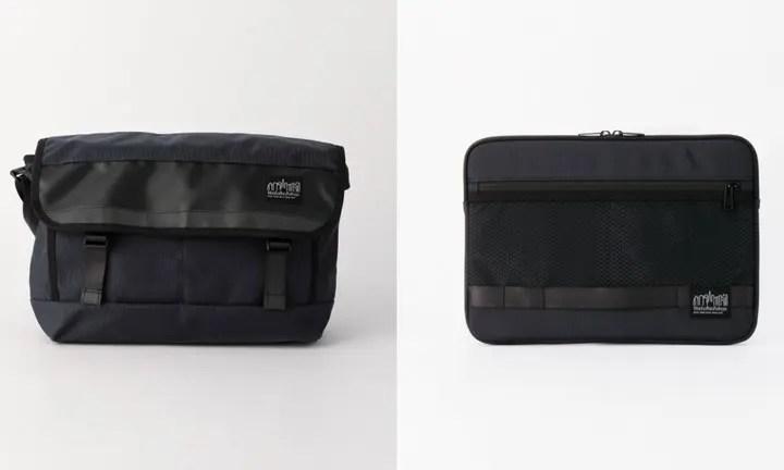 SHIPS別注!Manhattan Portage BLACK LABEL スリーブケース/メッセンジャーバッグが8月中旬発売! (シップス マンハッタンポーテージ ブラック レーベル)
