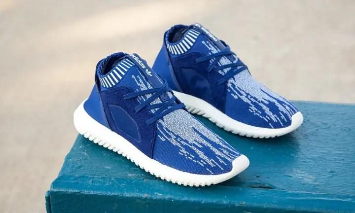 "adidas Originals WMNS TUBULAR DEFIANT PK {PRIMEKNIT} ""Blue"" (アディダス オリジナルス ウィメンズ チュブラー デファイアント プライムニット ""ブルー"") [S79865]"