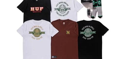 HUF TOKYO 一周年!× 7STARS DESIGNとのコラボコレクションが8/5発売! (ハフ セブンスターズ デザイン)