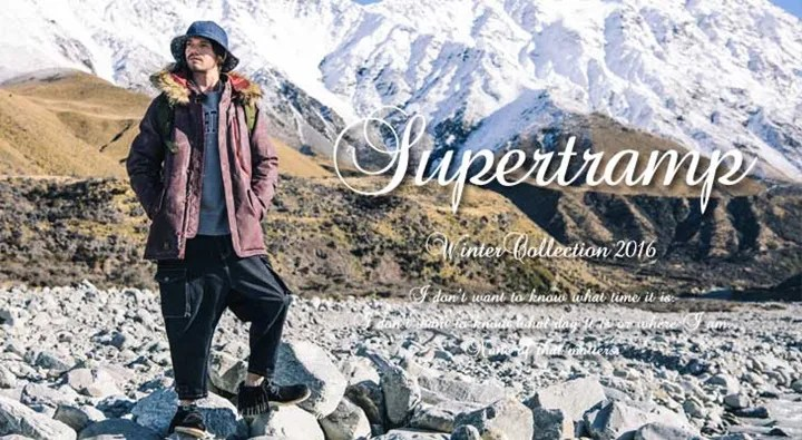 "glamb 2016 Winter Collection ""Supertramp""が先行予約! (グラム)"
