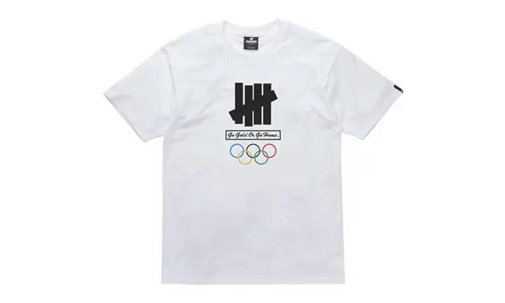 オリンピックを記念したUNDEFEATED GO GOLD OR GO HOME TEEが海外発売中! (アンディフィーテッド ゴー ゴールド オア ゴー ホーム)
