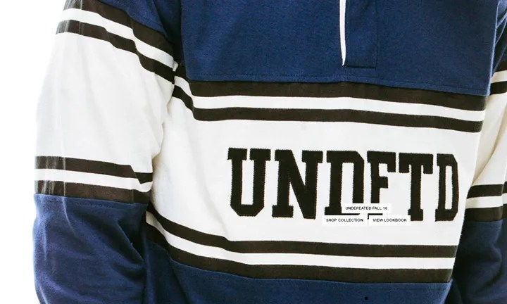 UNDEFEATED 2016 FALL COLLECTIONが海外展開! (アンディフィーテッド 2016年 秋)