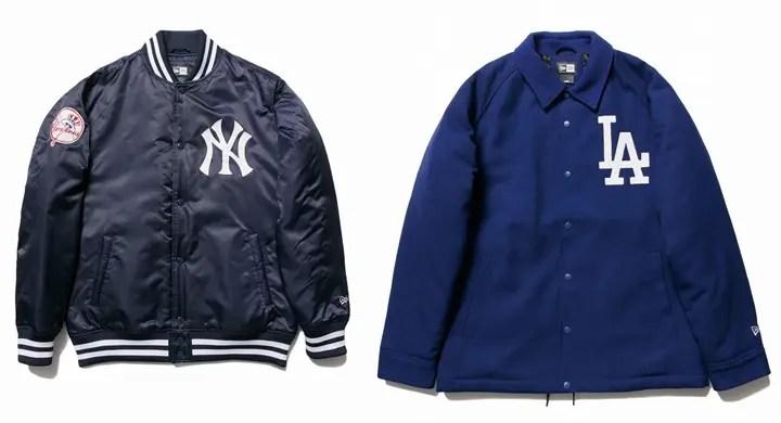 New Eraからサテンジャケットを現代的にアップデートした今季初登場のNylon Varsity Jacketやアパレルが発売! (ニューエラ)