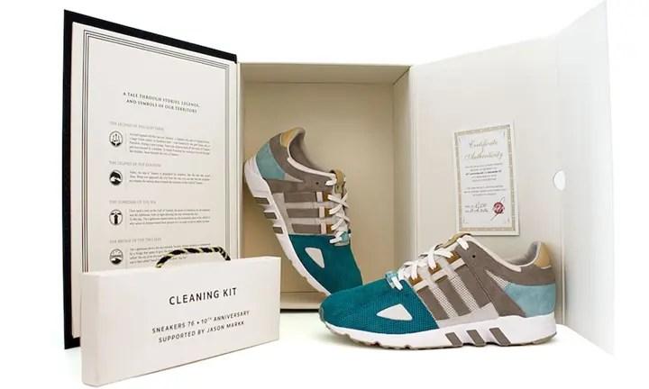 9/17発売!Sneakers76 x adidas Consortium EQT GUIDANCE 93 (スニーカーズ76 アディダス コンソーシアム エキップマント ガイダンス)