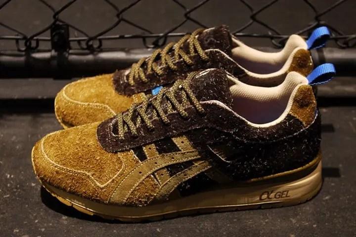 """10/15発売!リスをモチーフにしたミタ スニーカーズ × アシックス タイガー GT-II """"スクイレル"""" (mita sneakers ASICS TIGER GT-II) [TQK6K3-6164]"""