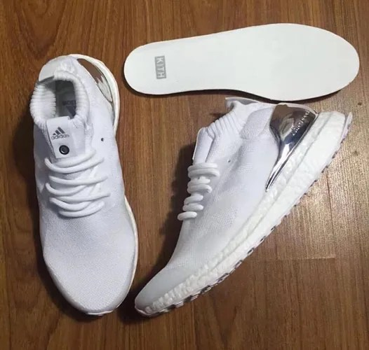 """【リーク】KITH RONNIE FIEG x adidas ULTRA BOOST """"White/Chrome Silver"""" (キース ロニー・フィーグ アディダス ウルトラ ブースト """"ホワイト/クローム シルバー"""")"""