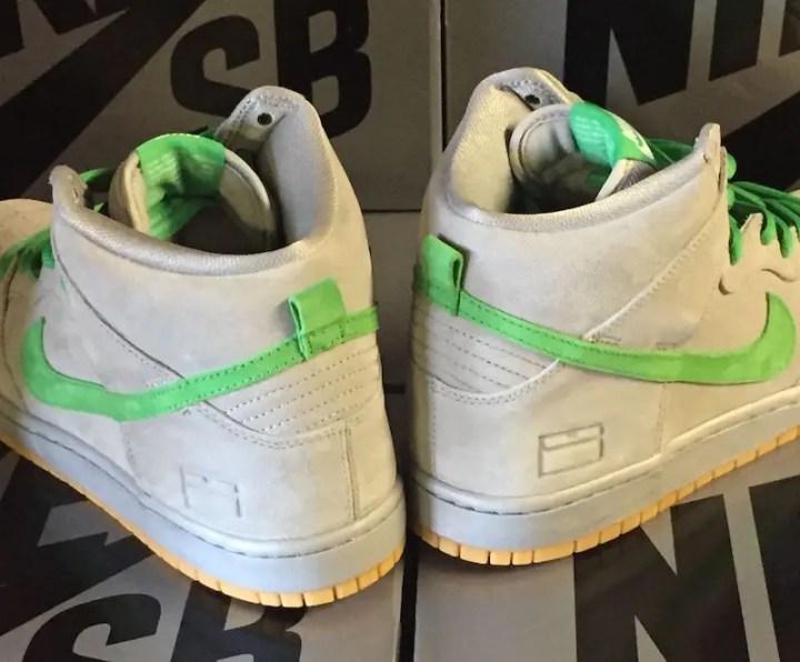 """NIKE DUNK SB HIGH """"Silver Shoes Box"""" (ナイキ ダンク SB ハイ """"シルバー シューズボックス"""") [313171-039]"""