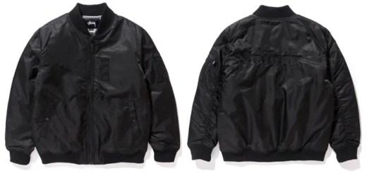STUSSY 2016 HOLIDAY COLLECTIONからフライトサテンをまとったMA-1ジャケットが発売中! (ステューシー)