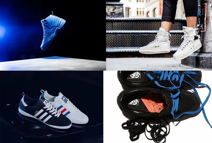 "【まとめ】11/12発売の厳選スニーカー!(NIKE AIR JORDAN 12 PREMIUM ""Deep Royal Blue"") )(Palace Skateboard × adidas Originals 2016 F/W INDOOR)(NIKE SPECIAL FIELD AIR FORCE 1 {SFAF-1})(C.E × VANS Bearcat)他"