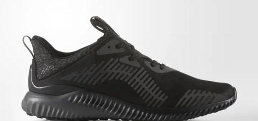 """11/25発売!adidas ALPHA BOUNCE XENO """"Triple Black"""" (アディダス アルファ バウンス """"トリプル ブラック"""") [B39074]"""