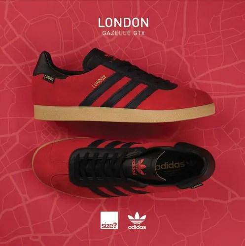 """11/25発売!size?限定!アディダス オリジナルス ガゼル GTX """"シティーズ ロンドン"""" (adidas Originals GAZELLE GTX """"Cities London"""")"""