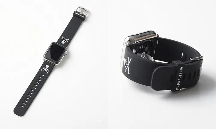 【先行予約】12月下旬~発売!mastermind JAPAN Apple Watch 42mm対応 ラバーバンド (マスターマインド ジャパン)