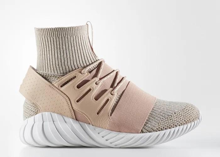 """海外12/8発売!adidas Originals TUBULAR DOOM PRIMEKNIT {PK} """"BEIGE/OFF-WHITE"""" (アディダス オリジナルス チュブラー ドゥーム プライムニット """"ベージュ/オフ ホワイト"""") [BB2390]"""
