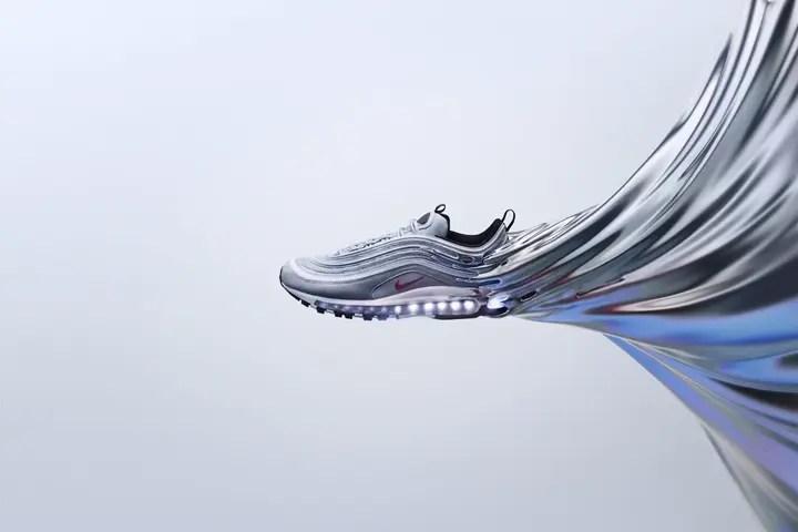 """ヨーロッパ限定!ナイキ エア マックス 97 """"シルバー バレット"""" (NIKE AIR MAX 97 """"Silver Bullet"""" Italy Exclusive)"""