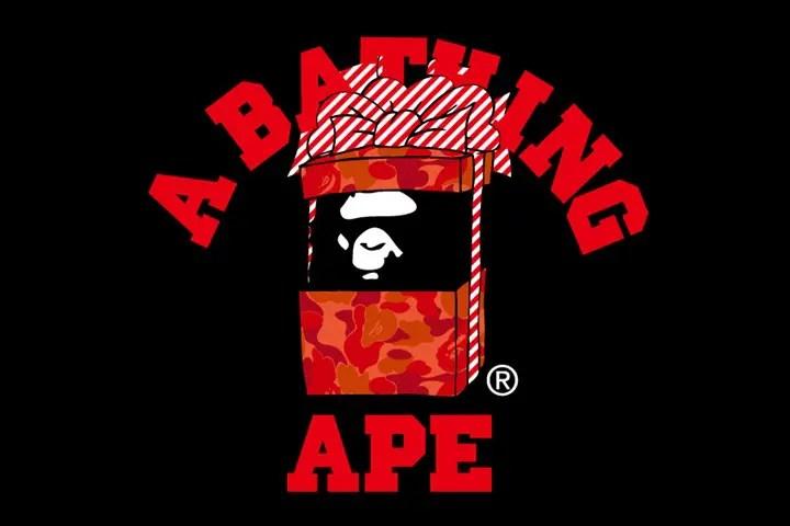 A BATHING APEからAPE HEADのギフトボックスデザインやBABY MILOのサンタデザインの特製ボックス入りTEEの、毎年人気のクリスマス限定コレクションが12/3発売! (ア ベイシング エイプ)