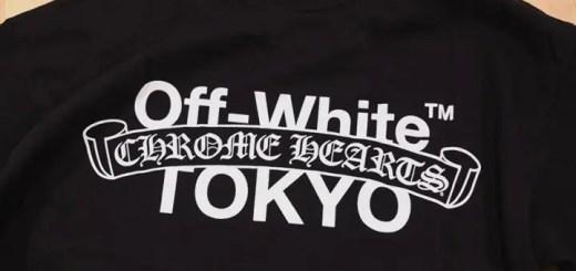 """OFF-WHITE c/o VIRGIL ABLOH x Chrome Hearts 2016 """"TOKYO"""" TEE (オフホワイト クロムハーツ)"""